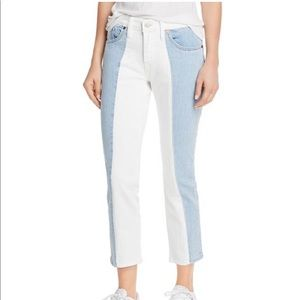 Levi's 501 Spliced Crop Tapered Jean size 28x26